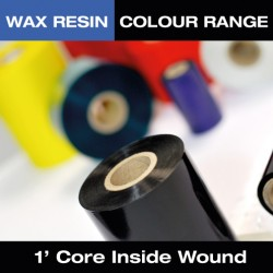 40mm x 300M Wax Resin Dark Blue (T64265IO)