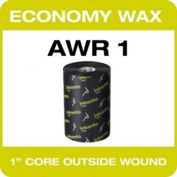 80mm x 450M Economy Wax (T63718QG)