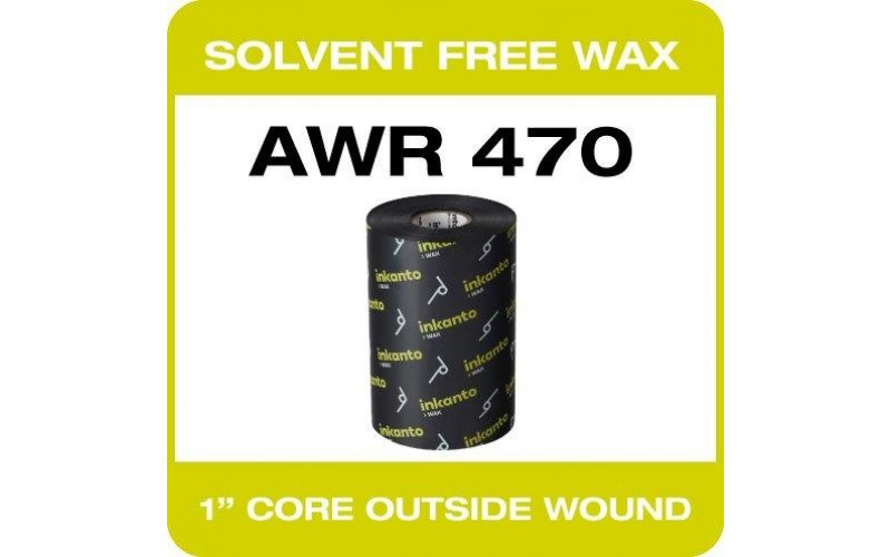 80mm x 450M Wax (T63223IO)